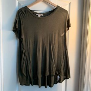Mossimo olive green tshirt Size Small